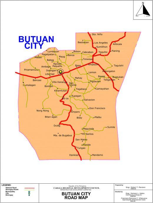 Mindanao: City and Provincial Maps (Davao City, Cagayan de Oro CDO